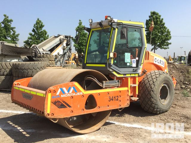 2012 Hamm 3412 Vibratory Double Drum Roller, Roller