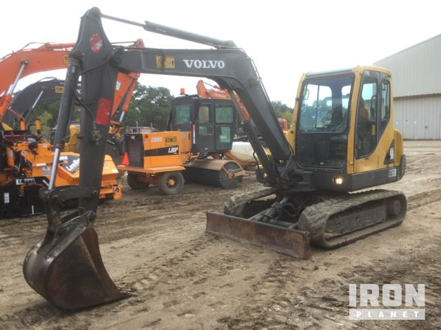 Volvo EC55B Mini Excavator, Mini Excavator (1 - 4.9 Tons)