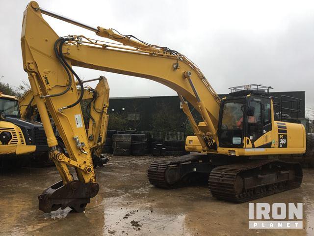 2015 Komatsu PC360LC-10 Track Excavator, Hydraulic Excavator