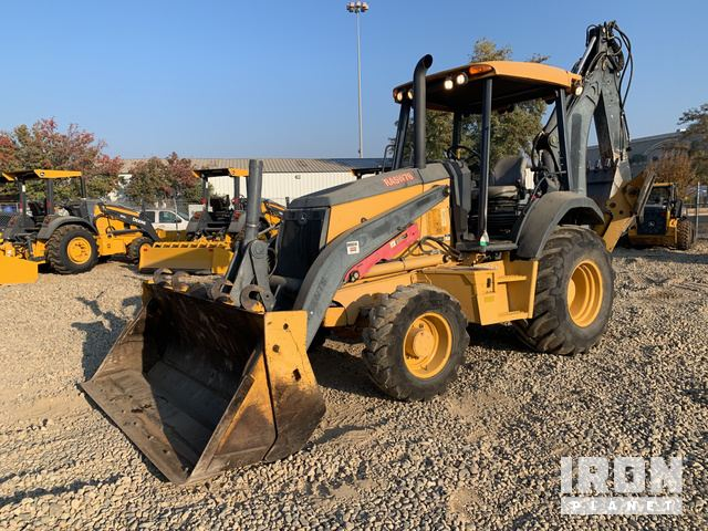 2012 John Deere 410K 4x4 Backhoe Loader, Loader Backhoe