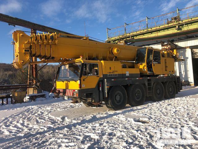 1996 Liebherr LTM1090-2 All Terrain Crane, All Terrain Crane