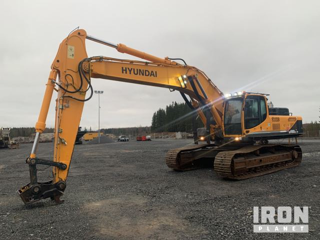 2012 Hyundai Robex 480LC-9 Track Excavator, Hydraulic Excavator
