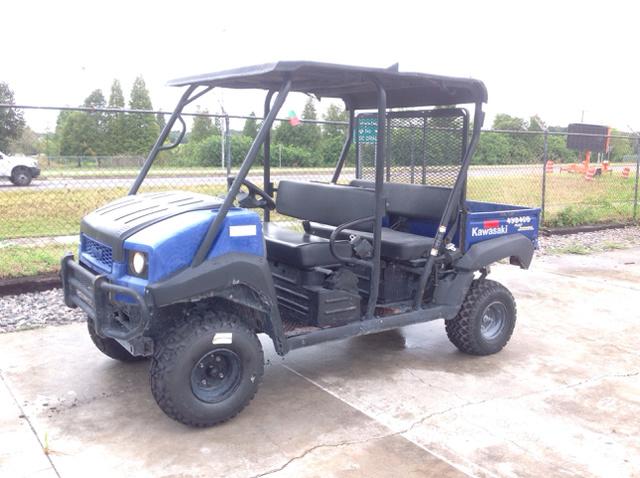 Kawasaki Mule Trans4x4 Utility Vehicle