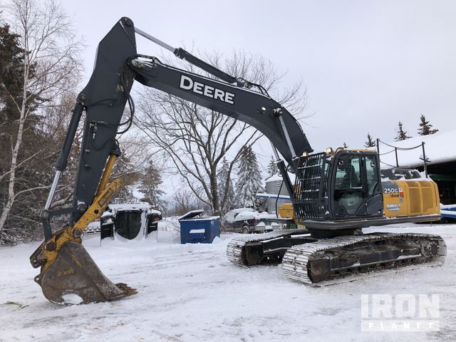 2012 John Deere 250G LC Track Excavator, Hydraulic Excavator