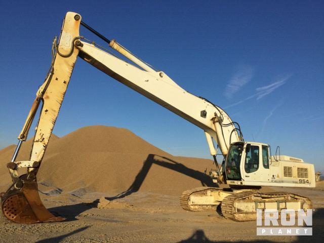 2007 Liebherr R954C HD Track Excavator, Hydraulic Excavator
