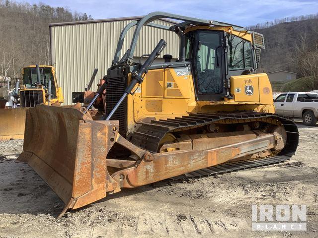 2012 John Deere 850K LGP Crawler Dozer, Crawler Tractor