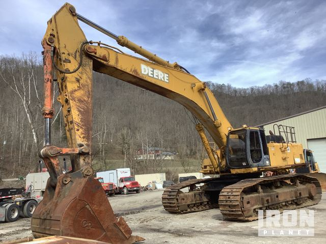 John Deere 750 Track Excavator, Hydraulic Excavator