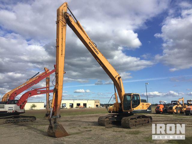 2014 Hyundai Robex 300LC-9A Track Excavator, Hydraulic Excavator