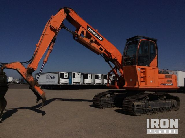 2014 Doosan DX225LL Log Loader, Log Loader