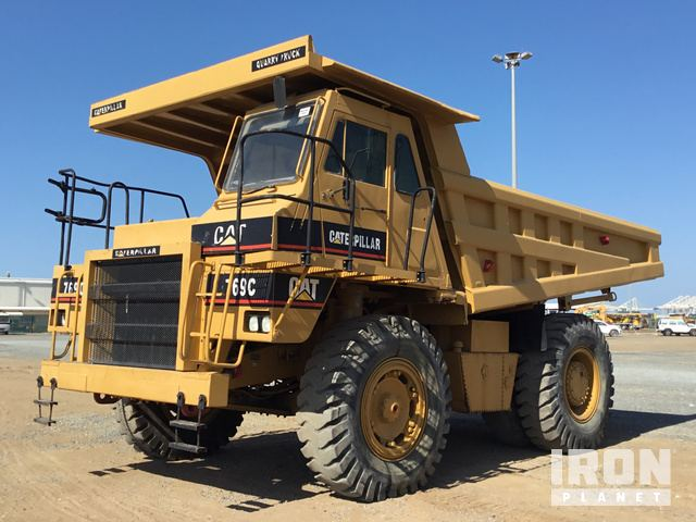1996 Cat 769C Off-Road End Dump Truck, Rock Truck