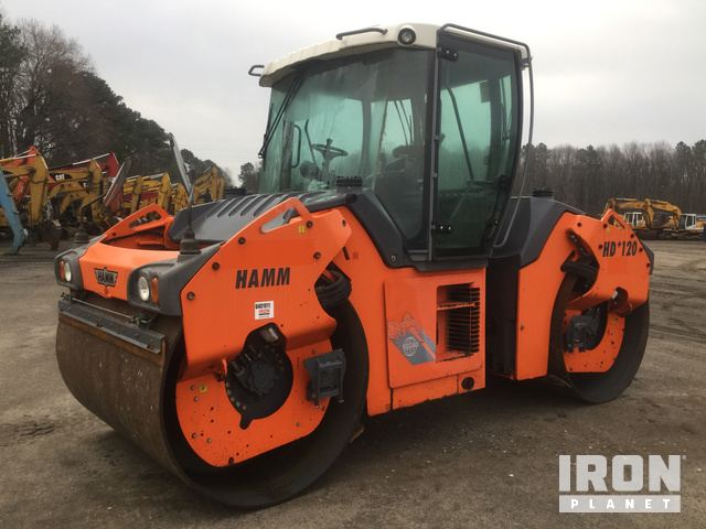 2011 Hamm HD120VV Vibratory Double Drum Roller, Roller