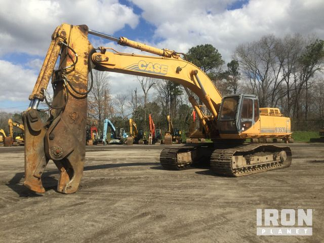 Case 9060B Track Excavator, Hydraulic Excavator