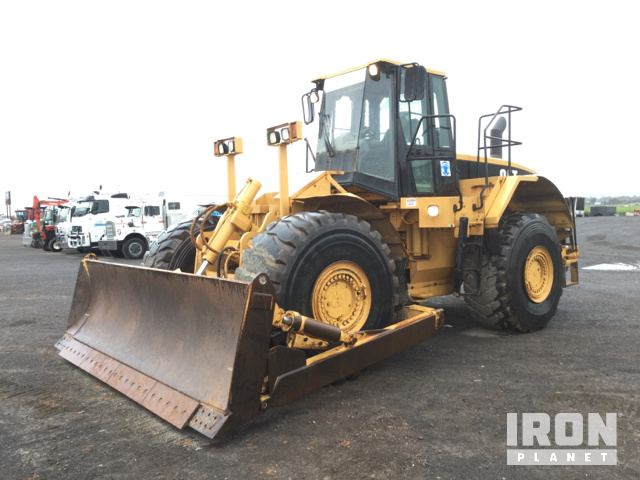 1997 Cat 824G Wheel Dozer, Hydraulic Excavator