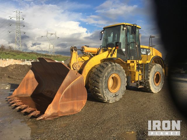 2007 Cat 966H Wheel Loader, Wheel Loader