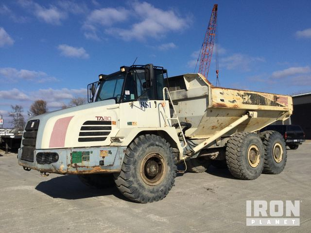 2007 Terex TA30 Articulated Dump Truck, Articulated Dump Truck