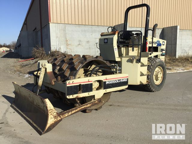 Ingersoll-Rand SD70D Vibratory Single Drum Compactor, Vibratory Padfoot Compactor