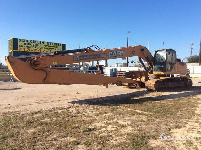 2018 (unverified) Case CX250C Long Reach Excavator, Hydraulic Excavator