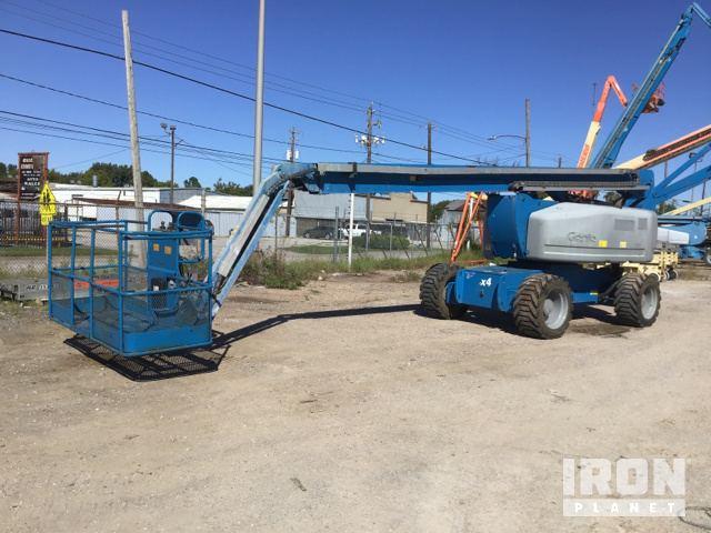 2016 Genie Z-80/60 4WD Diesel Articulating Boom Lift, Boom Lift