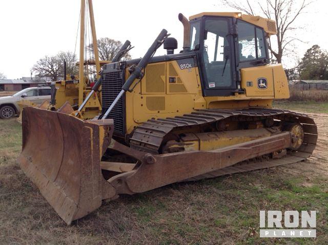 2013 John Deere 850K LGP Crawler Dozer, Crawler Tractor