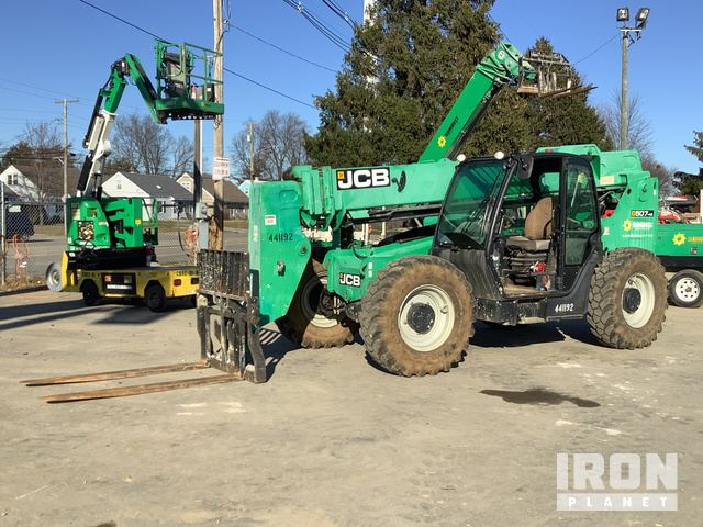 2012 (unverified) JCB 507-42 Telehandler, Telescopic Forklift