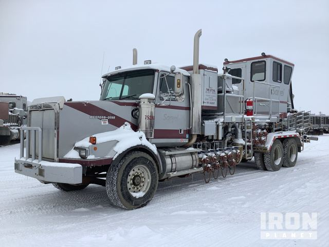 Crown STL00070 Frac Blender on 2002 Western Star 4900SA T/A Truck, Drilling Equipment - Other