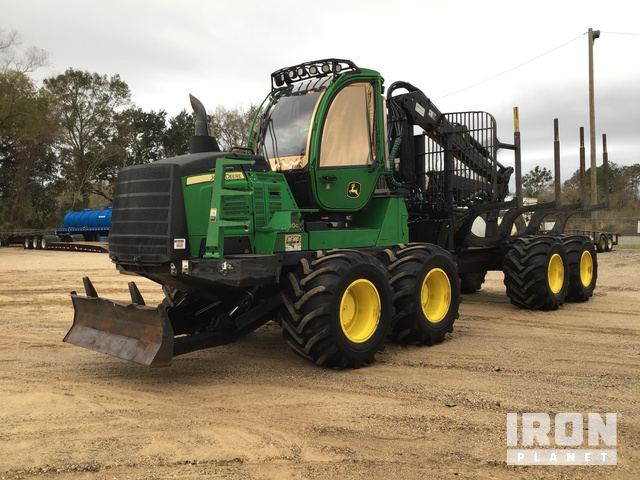 2017 John Deere 1210G Log Forwarder, Forwarder