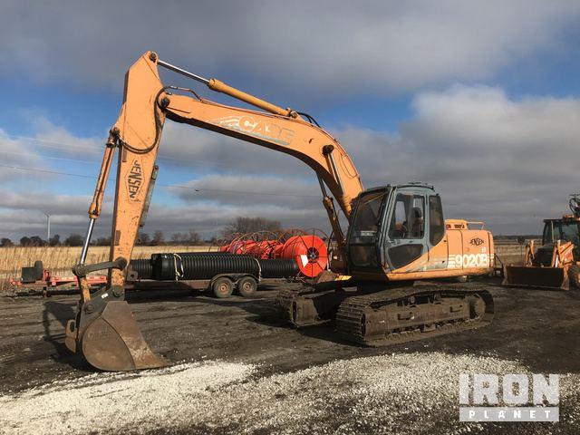 Case 9020B Track Excavator, Hydraulic Excavator