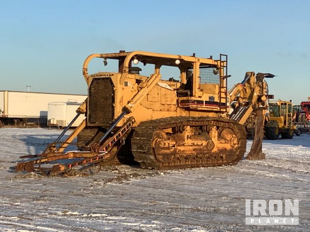 Cat D9H Crawler Cable Plow, Cable Plow