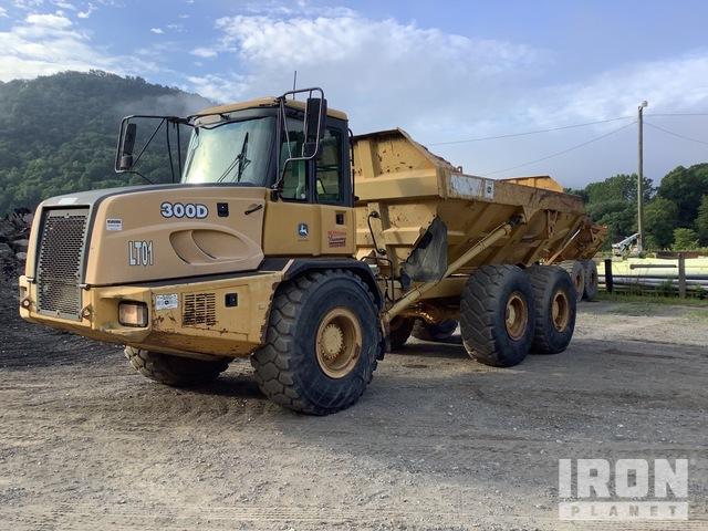 John Deere 300D Articulated Dump Truck, Articulated Dump Truck
