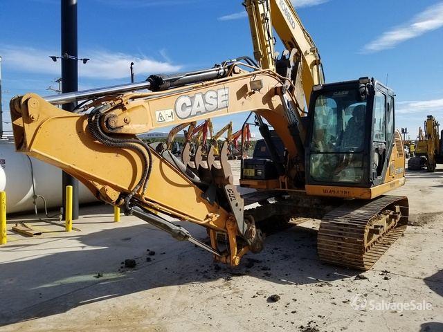 2016 Case CX130D Track Excavator, Hydraulic Excavator