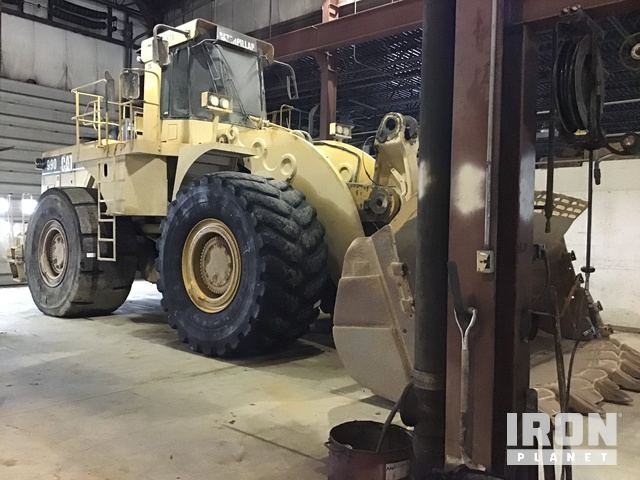 Cat 990 Series II Wheel Loader, Parts/Stationary Construction-Other