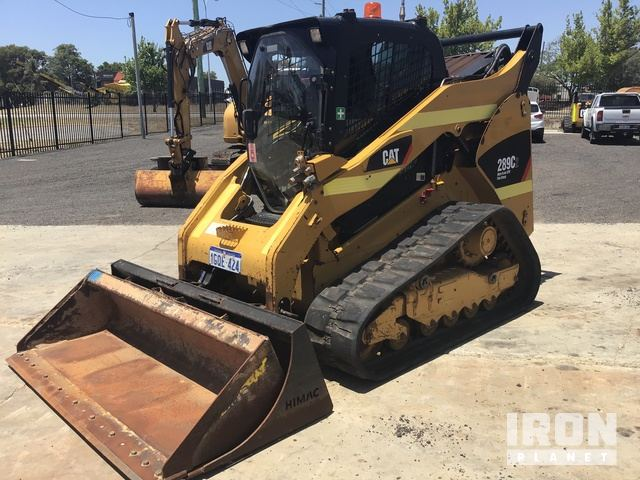 2012 Cat 289C2 Compact Track Loader, Compact Track Loader