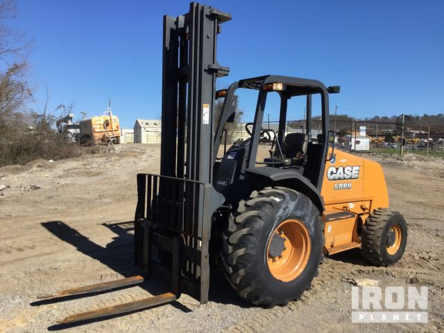 2015 Case 588H Rough Terrain Forklift, Rough Terrain Forklift