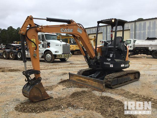 2018 Case CX37C Mini Excavator, Mini Excavator (1 - 4.9 Tons)