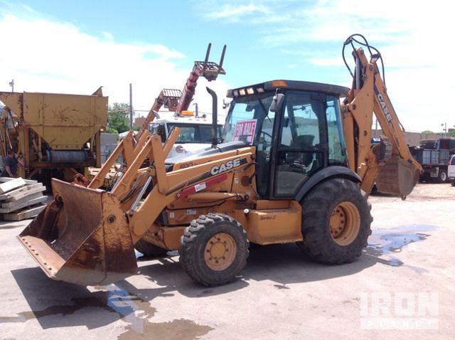 2005 Case 590 Super M Series 2 4x4 Backhoe Loader, Loader Backhoe