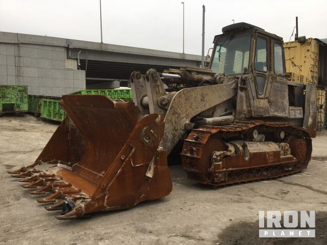Cat 973 Crawler Loader, Crawler Loader