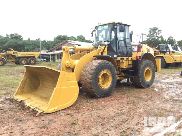 2015 Cat 966H Wheel Loader, Wheel Loader