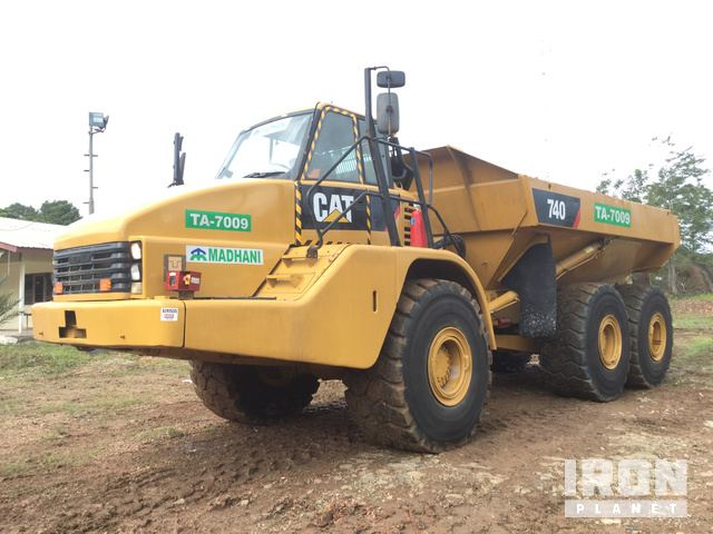 2007 Cat 740 Articulated Dump Truck, Articulated Dump Truck