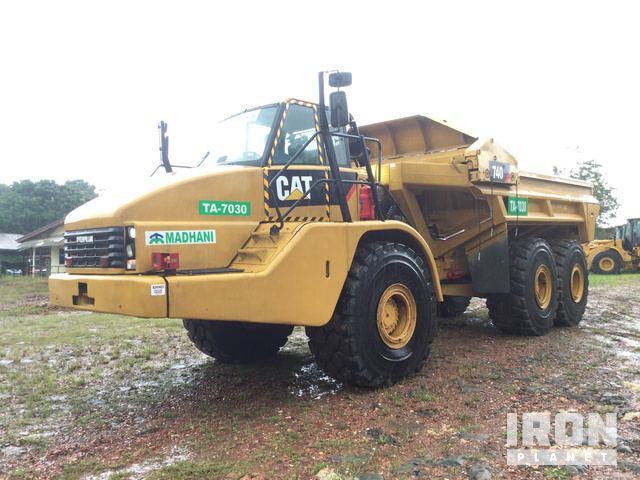 2008 Cat 740EJ Articulated Ejector Truck, Articulated Dump Truck