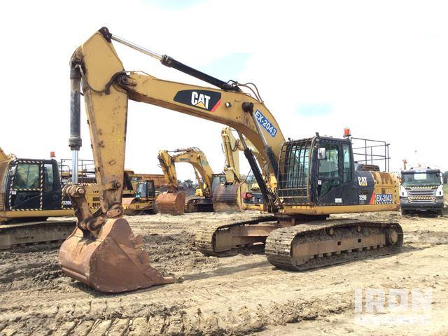 2013 Cat 329DL Track Excavator, Hydraulic Excavator