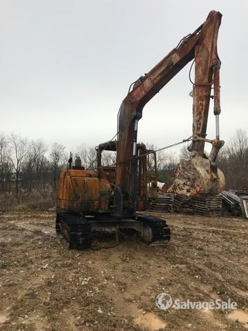 2015 Case CX80C Track Excavator, Parts/Stationary Construction-Other