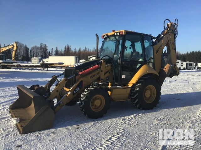 2008 Cat 420EIT Backhoe Loader, Loader Backhoe