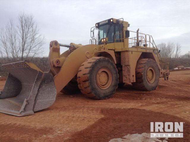 Cat 990 Series II Wheel Loader, Wheel Loader
