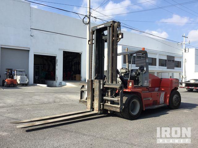 2011 Kalmar DCE160-12 Pneumatic Tire Forklift, Forklift