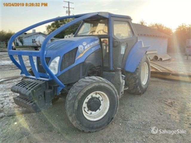 2016 (unverified) New Holland T4-120 4WD Tractor, MFWD Tractor