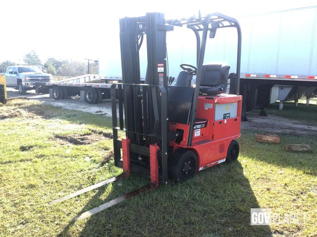 Raymond 4700C30 Electric Forklift, Electric Forklift