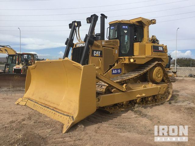 Cat D9R Crawler Dozer, Crawler Tractor