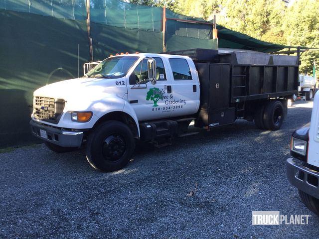 2000 Ford F-750 Super Duty S/A Dump Truck, Dump Truck (S/A)