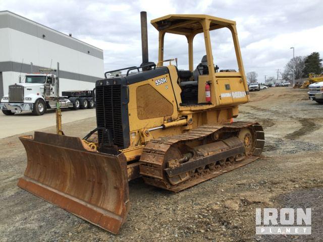 John Deere 550H LT Crawler Dozer, Crawler Tractor