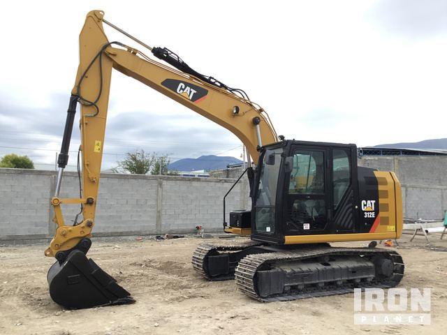 2014 Cat 312E Track Excavator, Hydraulic Excavator